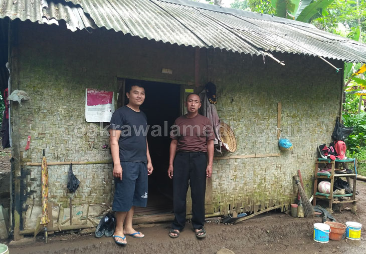 Potret Keluarga Miskin di Pangandaran, Empat Orang Tinggal Dirumah Tidak Layak Huni