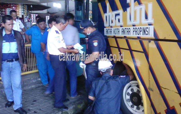 Dede Kecewa Bus yang ditumpanginya Tidak Laik Jalan