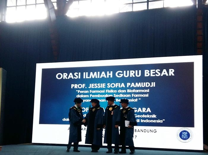 ITB Tambah Dua Guru Besar