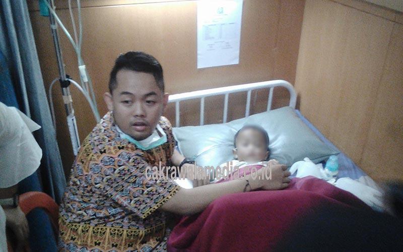 Alami Pendarahan di Kepala, Ferdi Dilarikan ke RS Hasan Sadikin