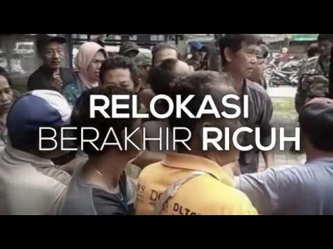 Video Relokasi PKL Dadaha Berakhir Ricuh