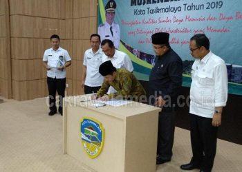 DPRD Kota Tasik Sampaikan 16 Titik Berat Permasalahan Kota Tasikmalaya