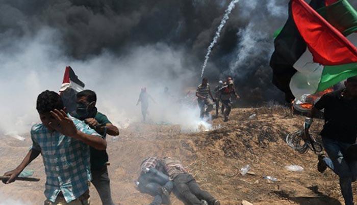 Bentrok di Jalur Gaza, 25 Orang Tewas dan Ratusan Alami Luka-luka