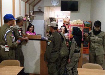 Jaga Kesucian Ramadhan, Pol PP Kota Tasik Razia Warung Nyemen
