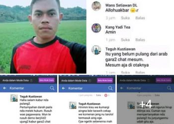 Akun Facebook Teguh Kustiawan Diburu Umat Islam dan FPI Tasikmalaya, Apa Masalahnya?
