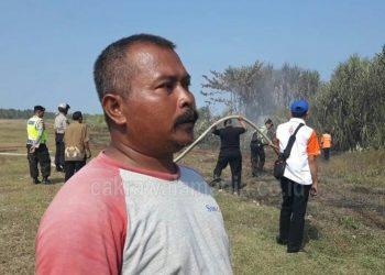Semak Belukar di Pangandaran Seluas 90 Meter Persegi Terbakar