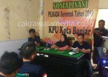 KPUD Banjar Ajak Media dan OKP Sosialisasi Pilkada Serentak
