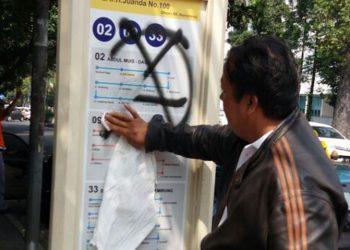 Dishub Kota Bandung Kecam Aksi Vandalisme di Sejumlah Shelter