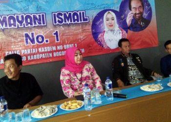 Ratusan Relawan Cigombong Nyatakan Sikap Dukung Irmayani Ismail Jadi Anggota Dewan