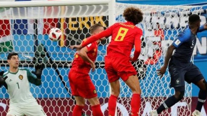 Tandukan Umtiti Benamkan Asa Belgia Juarai Piala Dunia 2018