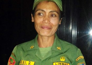 Ani Rambo, Sosok Linmas Perempuan Serba Bisa