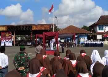 Upacara Peringatan HUT RI Ke-73 di Kec. Mangkubumi Berjalan Khidmat