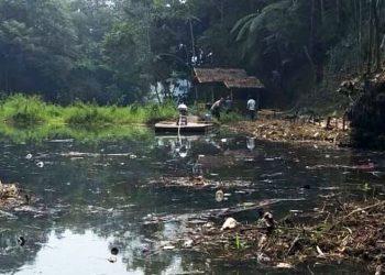 Yayasan Pelestari Situ Lido Temukan Legok Ciputat yang Hilang Tertimbun Sampah