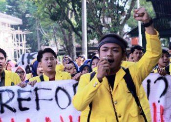 Bawa Lima Tuntutan, Mahasiswa Fakultas Pertanian Unsil Siap Aksi