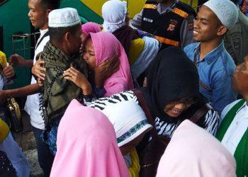 Kloter Terakhir Jemaah Haji Ciamis Tiba, Satu Orang Meninggal Dunia