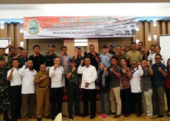 Jelang Pileg dan Pilpres 2019, Kesbangpol Jabar Bangun Sinergitas