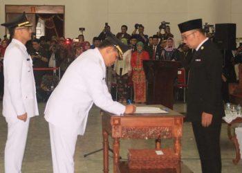 Bupati dan Wakil Bupati Bandung Barat Resmi Dilantik