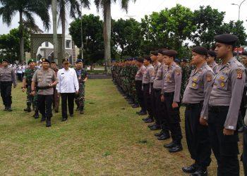 Jelang Pemilu 2019, Polresta Gelar Pasukan Operasi Mantap Brata