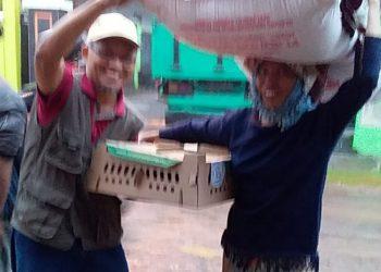 Balitnak Bogor Distribusikan 7 Ribu Ekor DOC Ayam ke Kab. Tasik