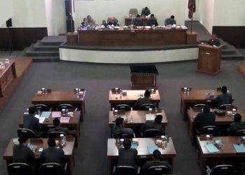 DPRD Kota Banjar Gelar Rapat Paripurna Tahun 2018