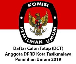 DCT Anggota DPRD Kota Tasikmalaya 2019