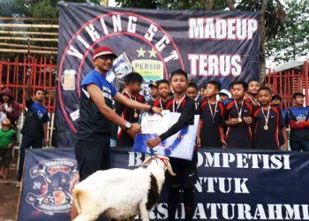 Sambut HUT VPC Ke-25, Viking Distrik Batujajar Gelar Mini Soccer