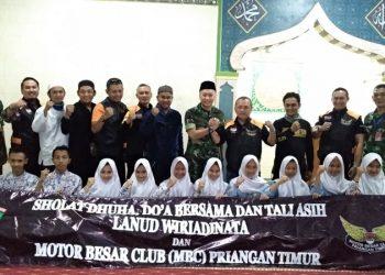 Perkuat Tali Asih, MBC dan TNI AU Gelar Salat Duha dan Do'a Bersama