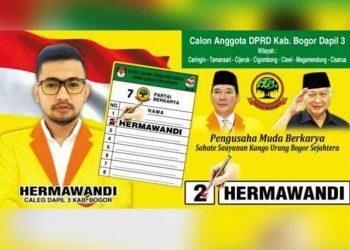 Rekam Jejak Hermawandi Caleg DPRD Kab. Bogor