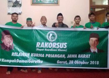 Relawan Kurma Siap Hadirkan KH. Ma'ruf Amin di Garut