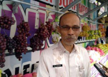 Diduga Mengandung Formalin, Diskoperindag Kota Tasik Sidak Pedagang Buah Anggur