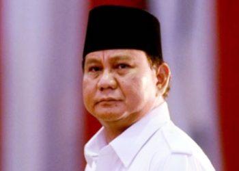 Prabowo Disambut Warga Saat Hadiri Tasyakuran Ponpes di Sukabumi
