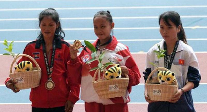 Karisma Evi Tiarani Sumbang Emas Kesembilan Indonesia