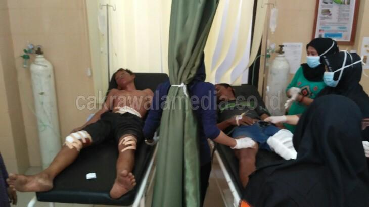 Pasien Korban Lakalantas Sudah 8 Jam Menunggu Dokter di Puskesmas Cikembulan