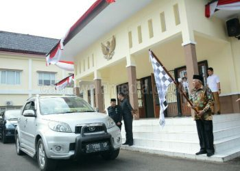 Wakil Bupati Adang Hadari Buka dan Lepas Ekspedisi Pondok Pesantren