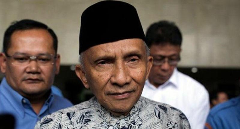 Soal Hoax RS, Amien Rais Diperiksa Polda Metro Jaya Hari Ini