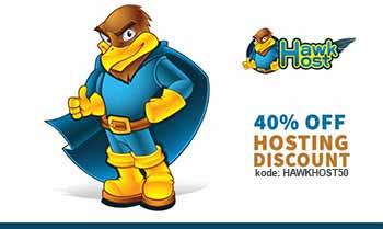 Kupon Diskon Hawkhost 40%