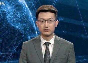 China Buat Robot News Anchor