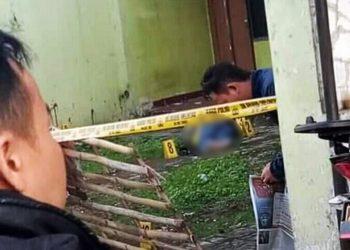 Seorang Pria Tewas Bersimbah Darah di Padasuka Cimahi