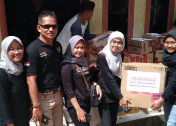 Srikandi Kec. Tawang Salurkan Bantuan untuk Korban Bencana Culamega