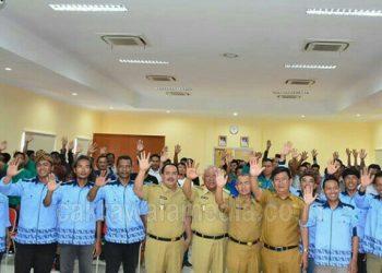 Bupati Jeje Kukuhkan Pengurus Kompepar Kabupaten Pangandaran Periode 2015-2020