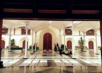 Unik, Desain Masjid Agung Kota Cimahi Mirip Masjid di Saudi Arabia