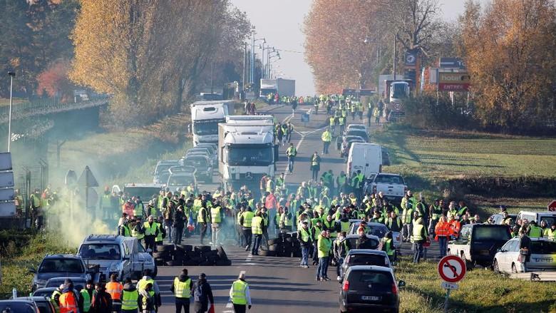 Aksi BBM di Prancis, Seorang Demonstran Tewas