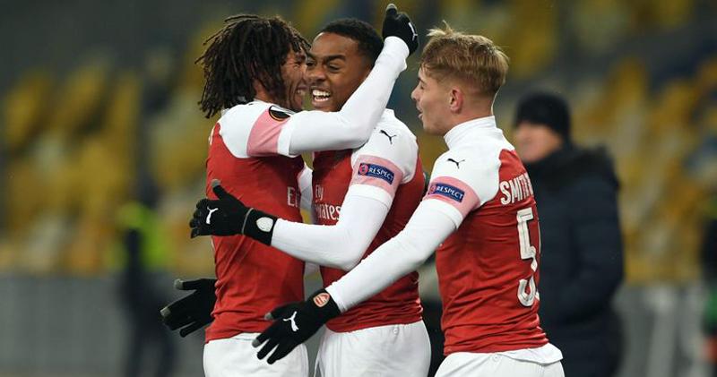 Arsenal Menang Besar Atas Vorskla