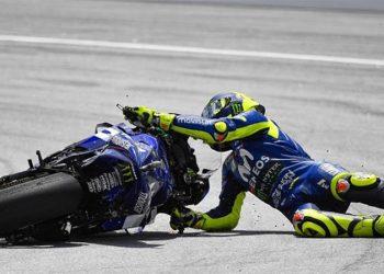 Kebahagian Dibalik Jatuhnya Rossi