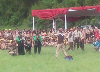 Hadiri Peran Saka 2018, Saka Wanabakti Siap Bantu Perhutani Jaga Hutan Bandung Utara