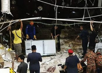 3 Tewas Akibat Ledakan di Mall Malaysia