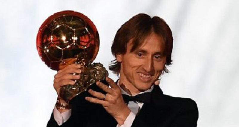 Modric Raih Ballon d'Or 2018