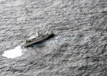 Pesawat Militer AS Tabrakan di Laut Jepang