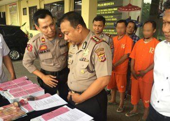 Diduga Korupsi, Dua Mantan Kades di Sukaratu Ditahan Polisi