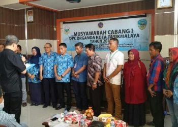 DPC Organda Tasikmalaya Gelar Muscab dan Pelantikan Ketua Terpilih